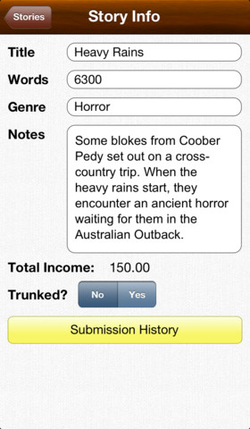 Story Tracker iPhone App Review