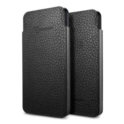 SPIGEN SGP Crumena iPhone 5 Case Leather Pouch Slim White