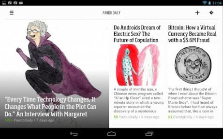 News Reader Android App