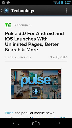 Pulse Android App Review