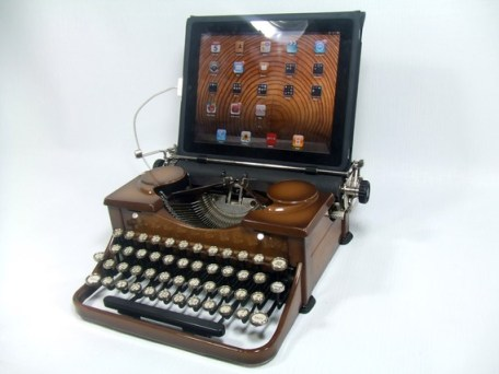 iPad USB-Typewriter