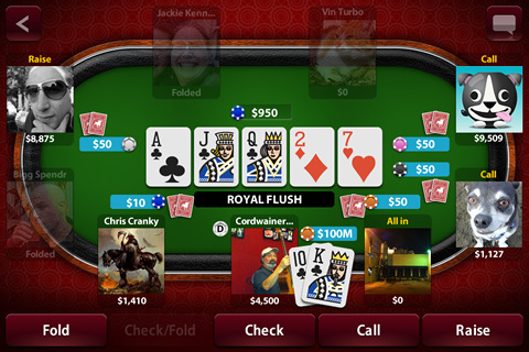 Spartan poker app download