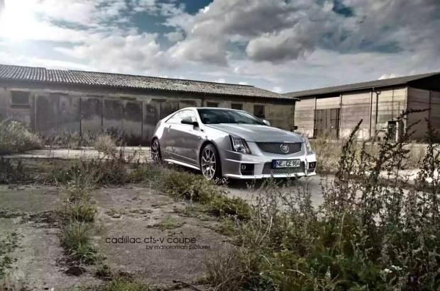 2012 Cadillac CTS-V Coupé by marioroman pictures | Fanaticar
