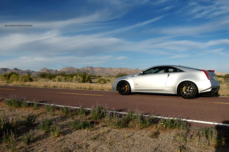 Cadillac CTS-V Coupé by marioroman pictures | Fanaticar