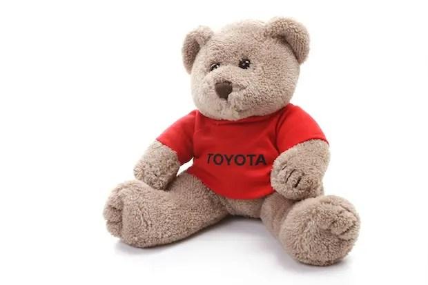 Der Toyota Bär für den Nachwuchs