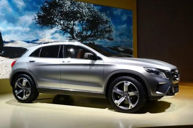 Mercedes-Benz GLA concept - Fanaticar Magazin