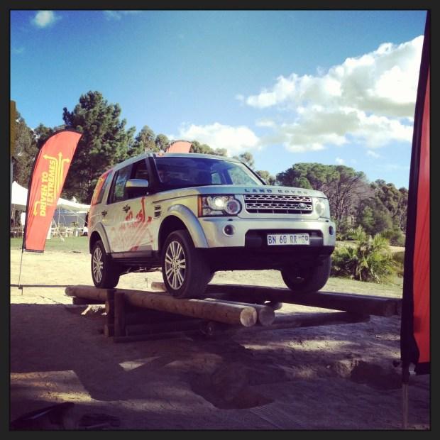 Präzises Ausbalancieren mit einem Land Rover ist eine Kunst