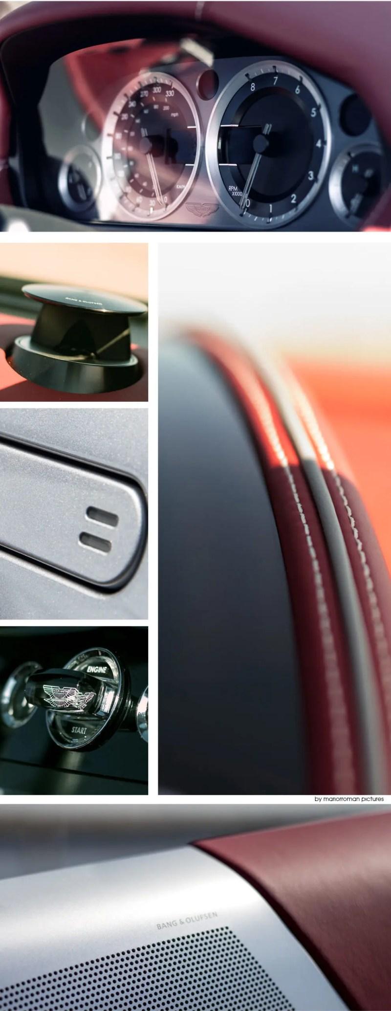 Aston Martin DB9 Volante Interieur - Fanaticar Magazin