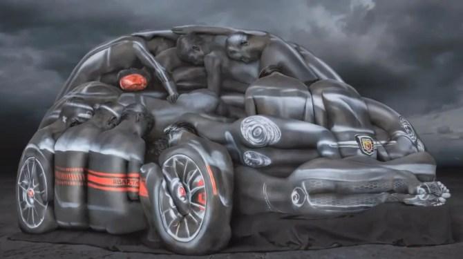 Abarth 500 Cabriolet Bodypaint - Fanaticar Magazin