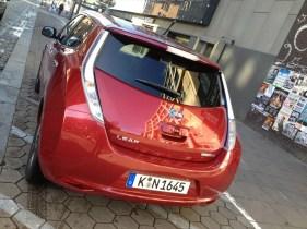Nissan Leaf Tekna Hinten