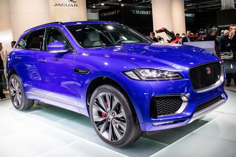 2015 Jaguar F-Pace IAA 2015 | Fanaticar Magazin