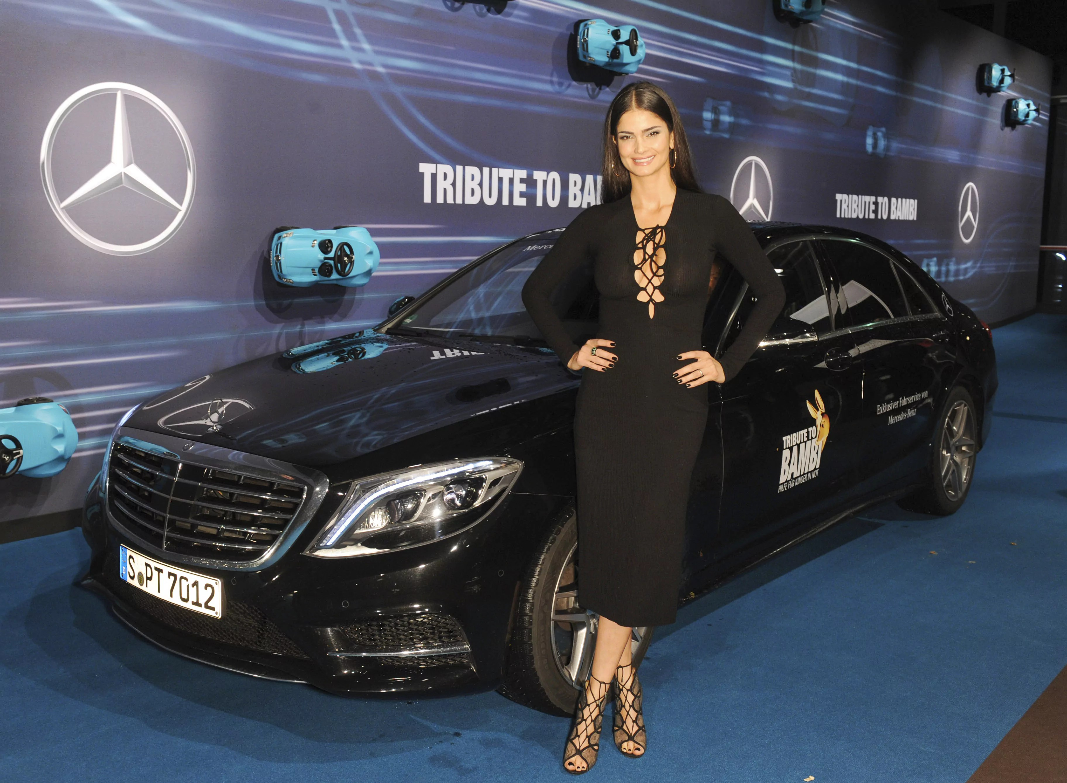 Shermine Shahrivar Tribute To Bambi 2015 in The Station in Berlin am 15.10.2015 Foto: Daimler AG