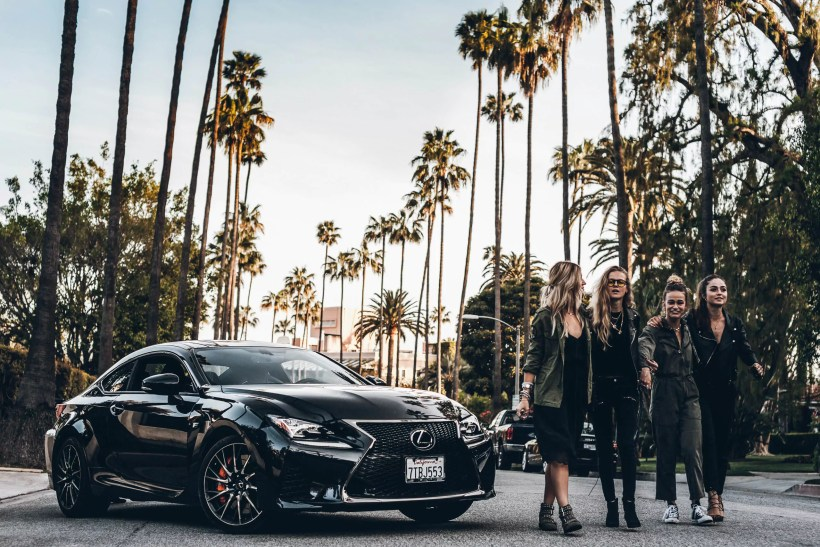 Lexus RC-F - Blogger Tour