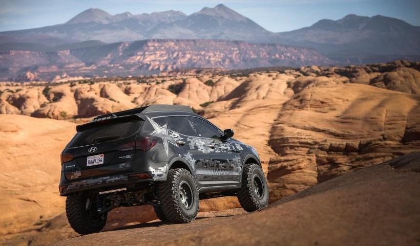 Hyundai Santa Fe Rockstar Energy Moab Extreme Off-Roader
