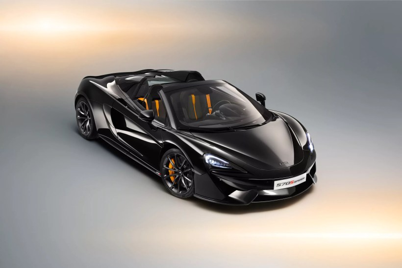 McLaren 570s Spider Design Edition