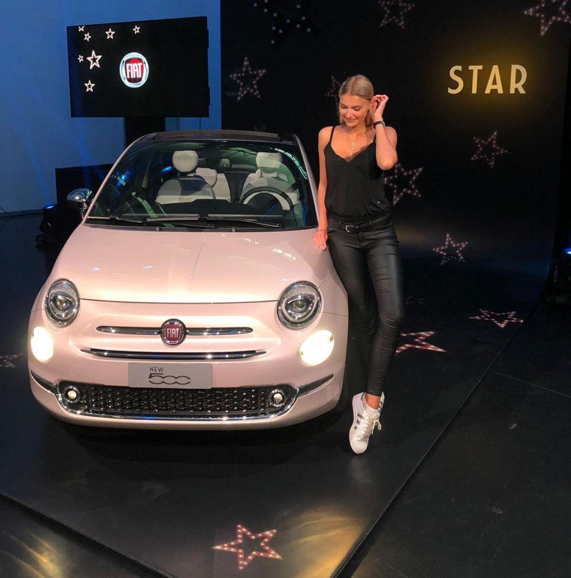 Jolia Fust, Fiat 500 Star