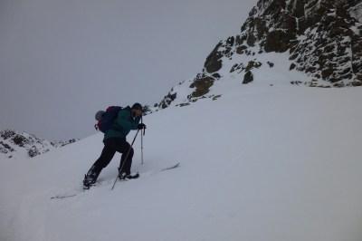 splitboard en montaña
