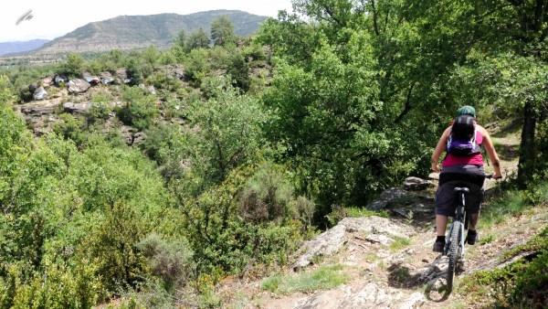 espacio btt alto gallego ruta 16