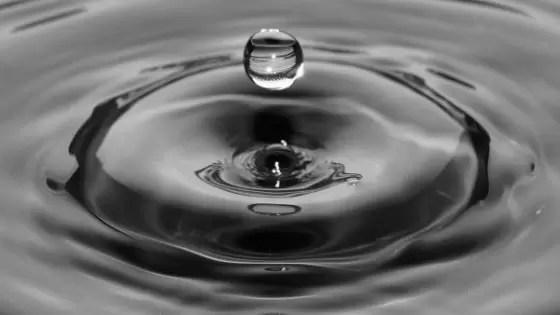 Alimentos para ganhar massa muscular - água