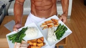 alimentos para ganhar massa muscular e perder gorduras
