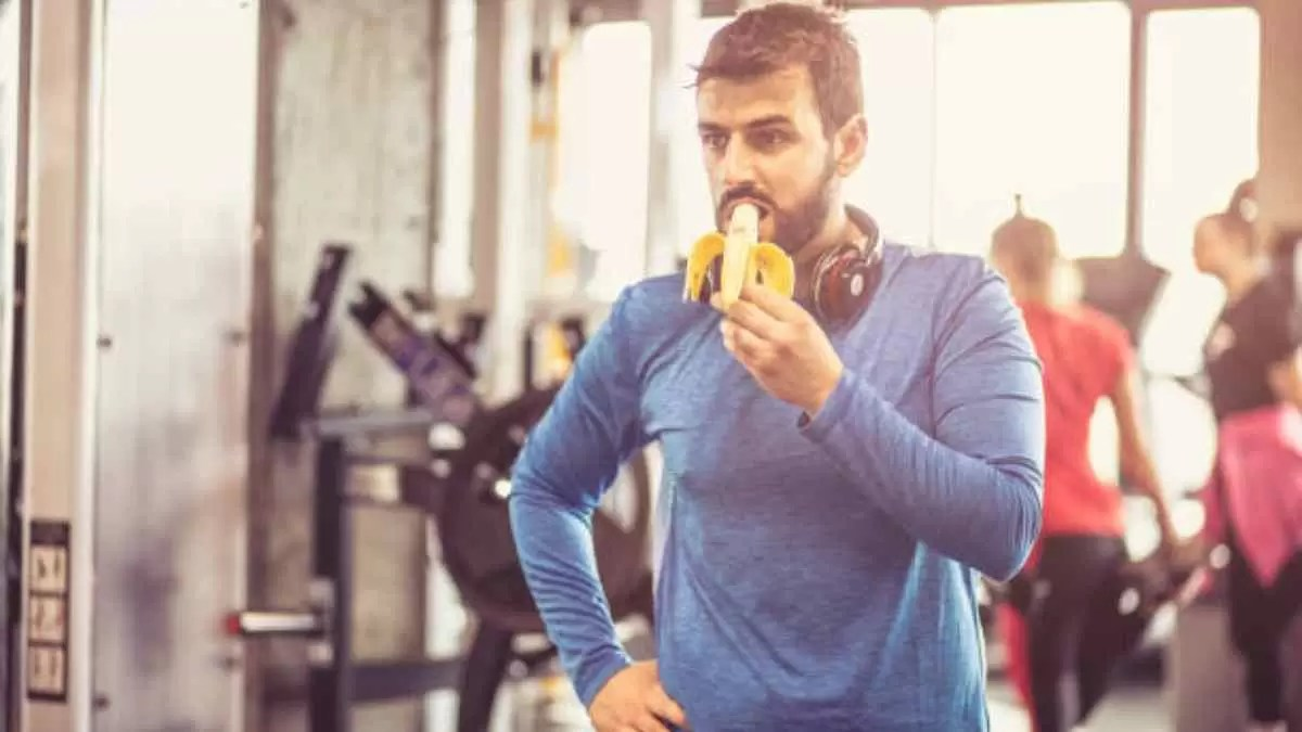 comer banana antes do treino