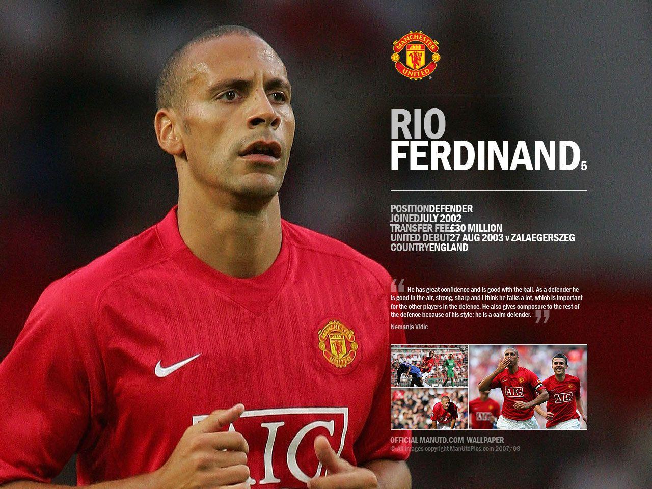 "Rio Gavin Ferdinand ""Libero Modern"""