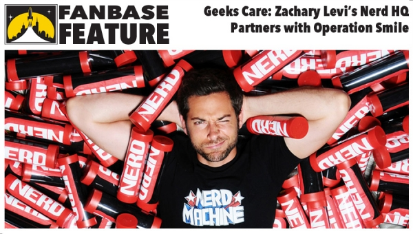Fanbase Feature / Geeks Care: Zachary Levi's NerdHQ Partners with Operation Smile (Exclusive Interview)