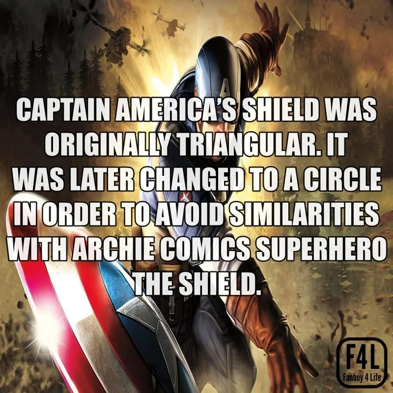 Captain America Fact