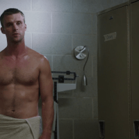 "Jesse Spencer as Lieutenant Matthew Casey shirtless in Chicago Fire 1×01 ""Pilot"""