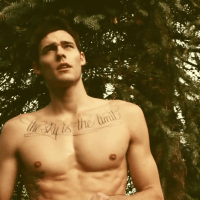 "Holden Nowell shirtless in Carly Rae Jepsen's ""Call Me Maybe"" video"