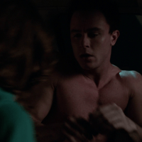 "Ryan Kelley as Deputy Jordan Parrish shirtless in Teen Wolf 5×07 ""Strange Frequencies"""
