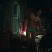 "KJ Apa as Archie Andrews shirtless in Riverdale 1×02 ""Chapter Two: A Touch of Evil"""