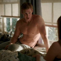 "Brendon Jones as Brandon Decker shirtless in Doubt 1x08 ""Top Dog/Underdog"""