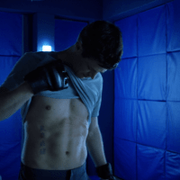 "Grant Gustin as Barry Allen/The Flash shirtless in The Flash 5x09 ""Elseworlds, Part 1"""