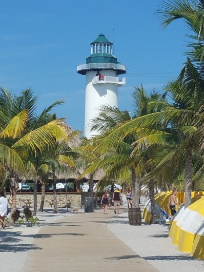 A lighthouse in Belize.