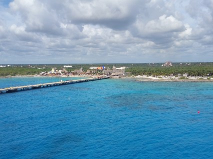 A view of Costa Maya