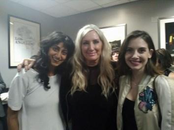 Sunita Mani, Roxy Astor & Alison Brie