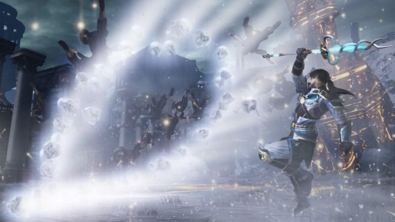 Warriors Orochi 4 Zhou Yun Magic_1
