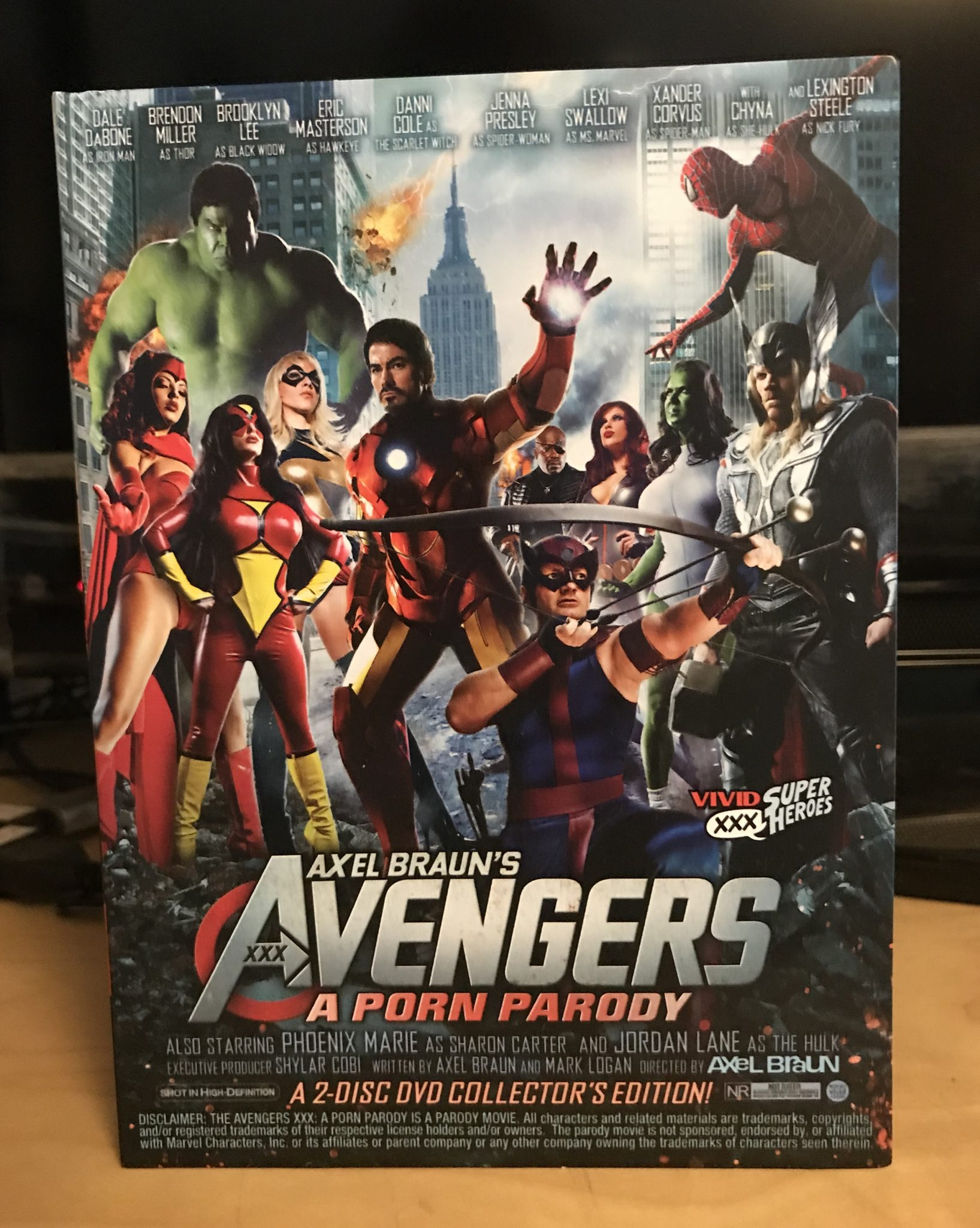 Adult Continuity Issue 13 Avengers Xxx A Porn Parody Fanboynation Magazine