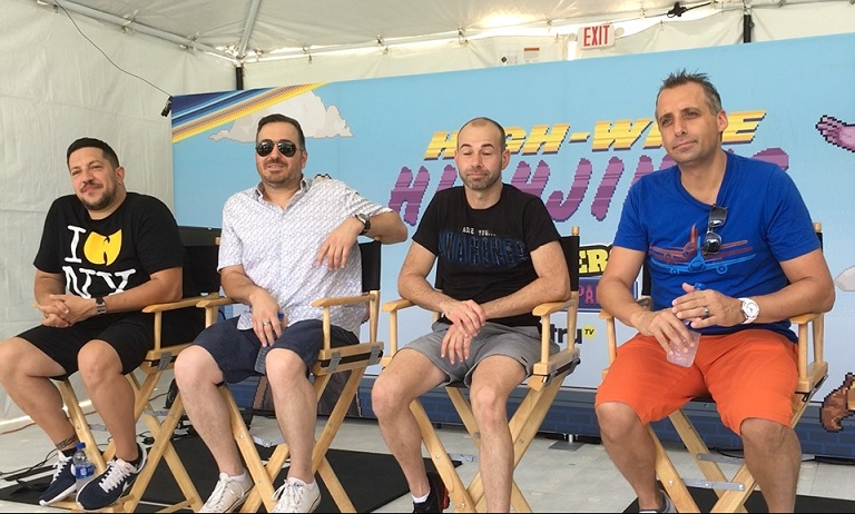 The Impractical Jokers at SDCC 2018 - FanboyNation