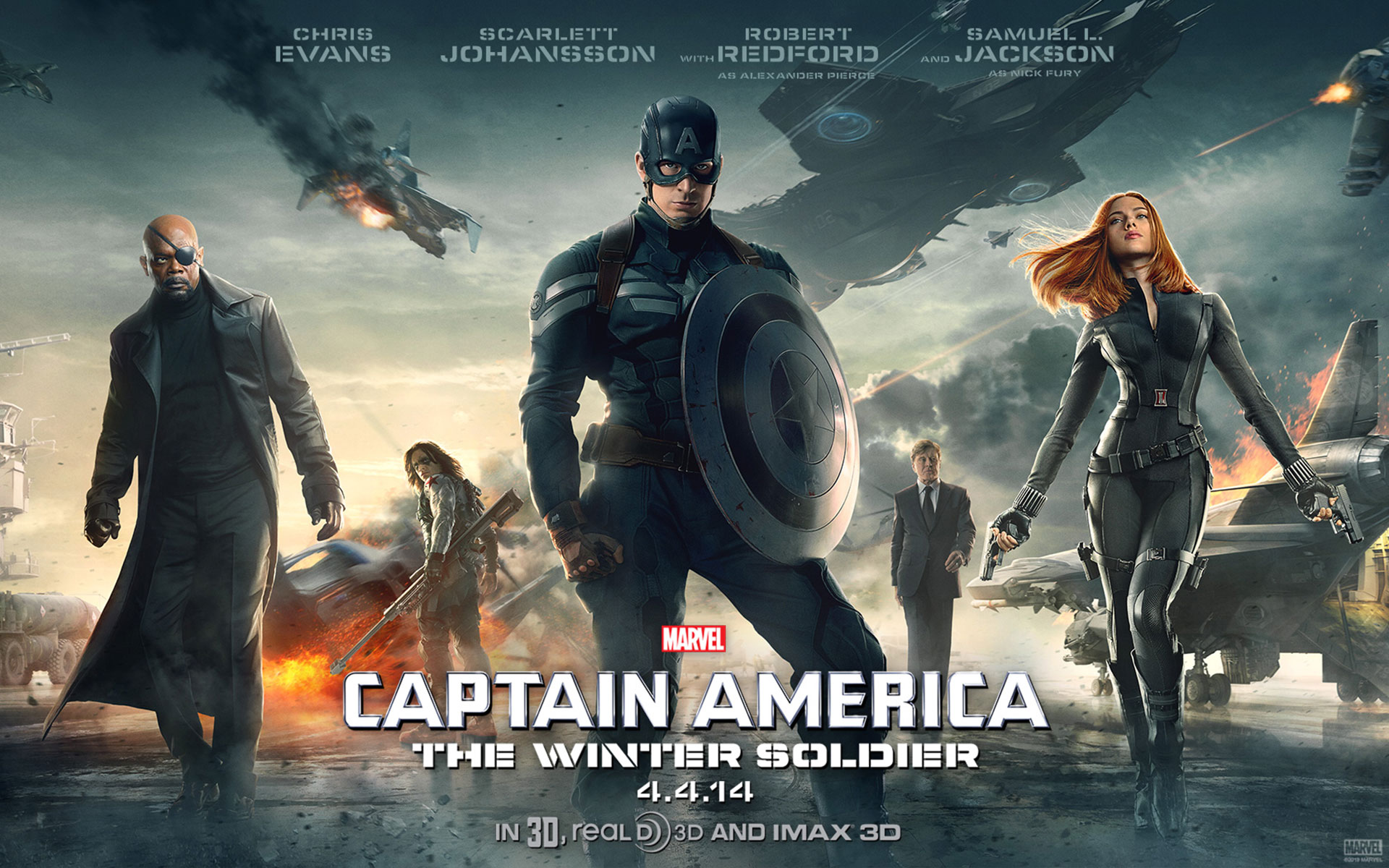 Review: 'Captain America: The Winter Soldier' – Fanboy Planet