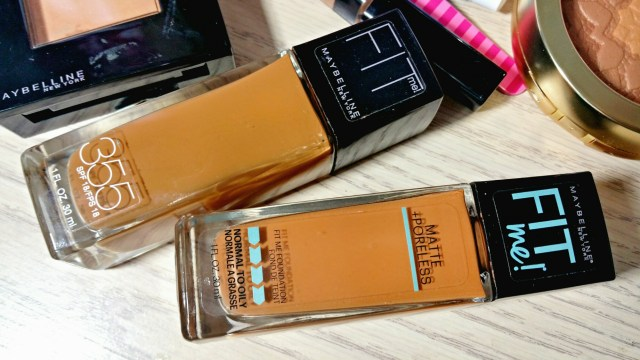 Maybelline Fit Me Matte + Poreless Foundation 355 Coconut Maybelline Fit Me Foundation