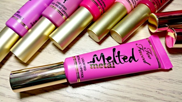 Too Faced Melted Metallic Dream House Lipstick