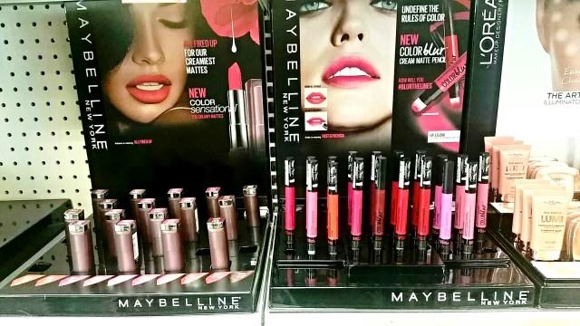 Maybelline Color Sensational Creamy Matte Lipsticks 2015, Color Blur Cream Matte Pencils