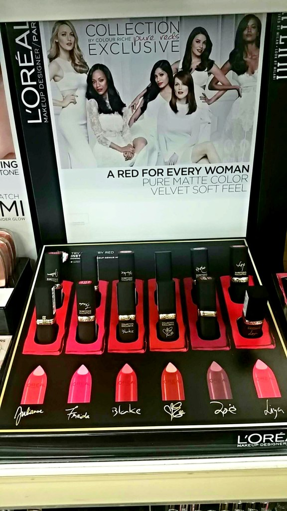 L'Oreal Colour Riche Collection Exclusive Pure Reds