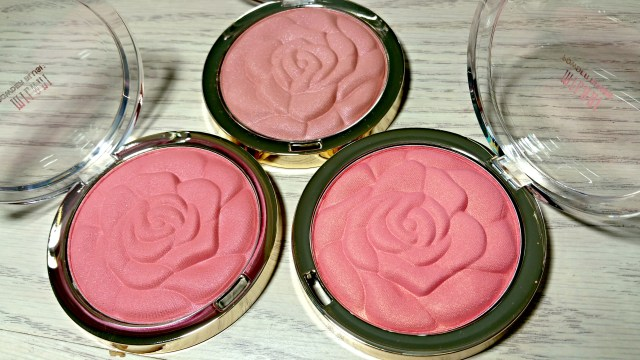 Milani American Beauty Rose, Awakening Rose, Blossomtime Rose Rose Blush