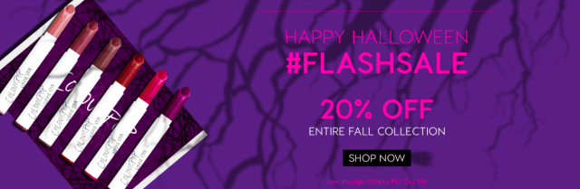 ColourPop Halloween Flash Sale