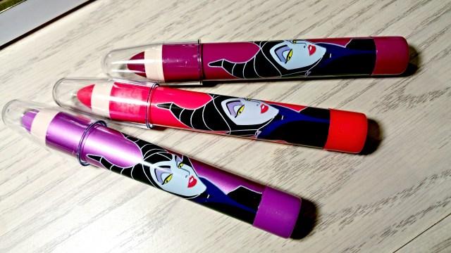 Disney Maleficent Vixen's Kiss Lip Color Set