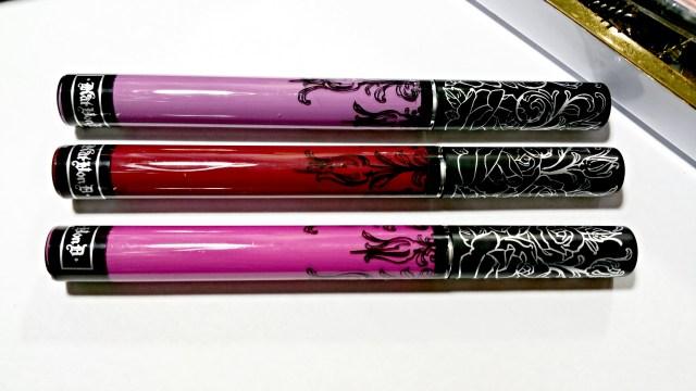 Kat Von D Susperia, Exorcism, Ayesha Everlasting Liquid Lipstick