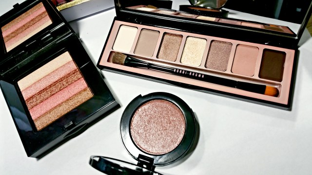 Bobbi Brown Telluride Collection: Sunset Pink Shimmer Brick, Telluride Pot Rouge, Telluride Eye Shadow Palette